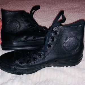 Leather High Top Chuck Taylor